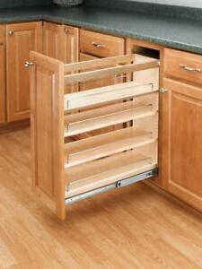 Rev-A-Shelf - 448-BC-5C - 5 in. Pull-Out Wood Base Cabinet Organizer - BRAND NEW - FREE SHIPPING