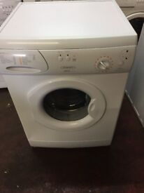 nice white hotpoint washing machine it's 6kg 1400 spin in excellent condition in full working order