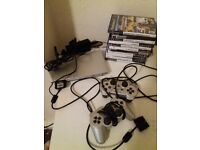 PS 2 with 11 games