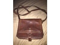 The Bridge leather shoulder handbag