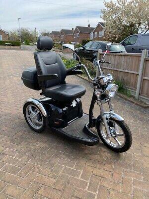 Drive Sport Rider - 8mph - 3 Wheeled Motorbike Scooter - Mobility Bike