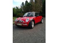 Mini Cooper 1.6 Lohen tuned racing red with remap 130 BHP