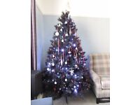 Black Artificial Christmas Tree