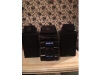 Technics hifi , cassette/ CD player