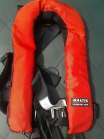Baltic winner 150 automatic with harness and spare cylinder