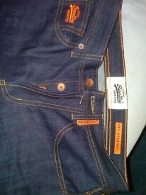 brand new superdry jeans