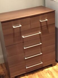 Chest of drawers X4 cupboards x2