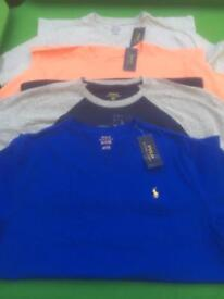 Ralph Lauren Polo 4 T-Shirts New Tagged.