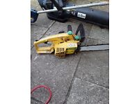 strimmer chainsaw blower spares or repair