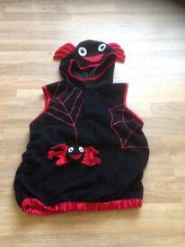 3-5years spider costume