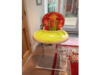 Mothercare High Chair as new