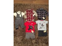3-6 months boys brand new outfits