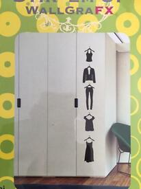 Wall stickers - Ladies Clothes design