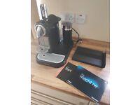 Nespresso coffee machine with aeroccino