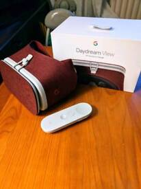 OPEN TO OFFERS Google Daydream View VR Headset - Crimson Red