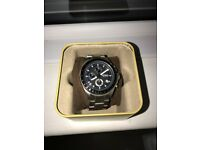Mens Fossil Watch - used but in top condition