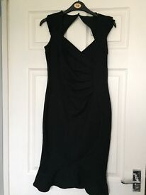 Black size 10 lipsy dress