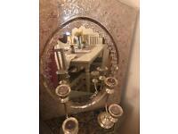 Mirror & candlestick