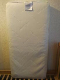 brand new mothercare cotbed mattress