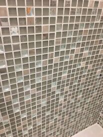 Mosaic tiles with jewels! 30 x 30cm each