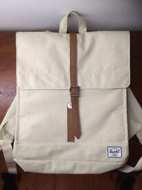Herschel Supply Co City Backpack in white / creme brand new