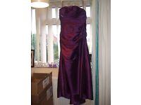 Size 12 Purple Bridesmaid dress
