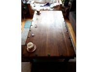 Real Solid Wood Coffee Table