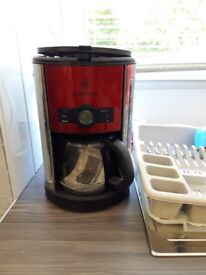 New Russell Hobbs 16 cup coffee machine