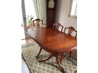Dining Room table and Chairs (Bevan and Funnell)