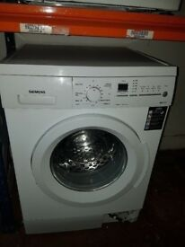 SIEMENS White Colour Washing Machine