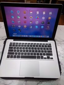 "Apple Macbook Pro 13"" core2do 4GBram 256GB SSD with office 16"