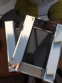 Glass Frames and Candlesticks x2 Reduced!!