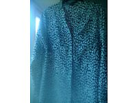 Next long shirt blouse size 14