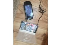 PSP - Charger & Game Included (Good Condition)
