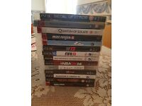 Ps3 with 2 pads and 32 Games
