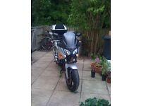 Honda CBF600 SA with topbox and panniers for sale