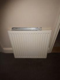 600x600 single radiator