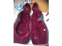 Hard 3/4 size cello case.