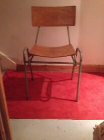 Original REMPLOY VINTAGE stackable chairs