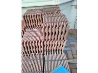 Redland plain roof tiles