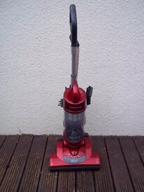 Morphy Richards 73288 Bagless Cyclonic Upright Vaccum, 1800 Watt - Metallic Red