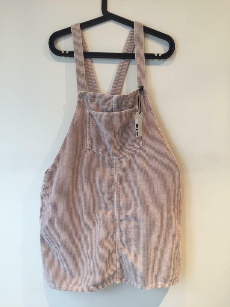 Topshop corduroy dungaree dress BRAND NEW