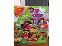Pop chef push pop and eat kit new