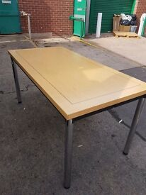 New folding frame office meeting tables Really good quality 1500mm