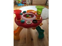 Light and sound ball table