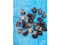 Euro 2 Pin to UK 3 Pin Plug Adapter. (Lot of 30)