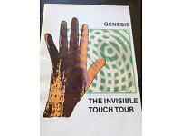 Genesis invisible touch tour program