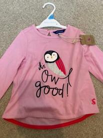 2yrs Joules girls top