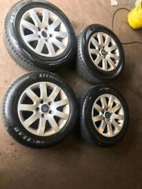 Volkswagen 15 Inch alloys