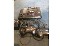 Sega megadrive mega drive 2 pads complete